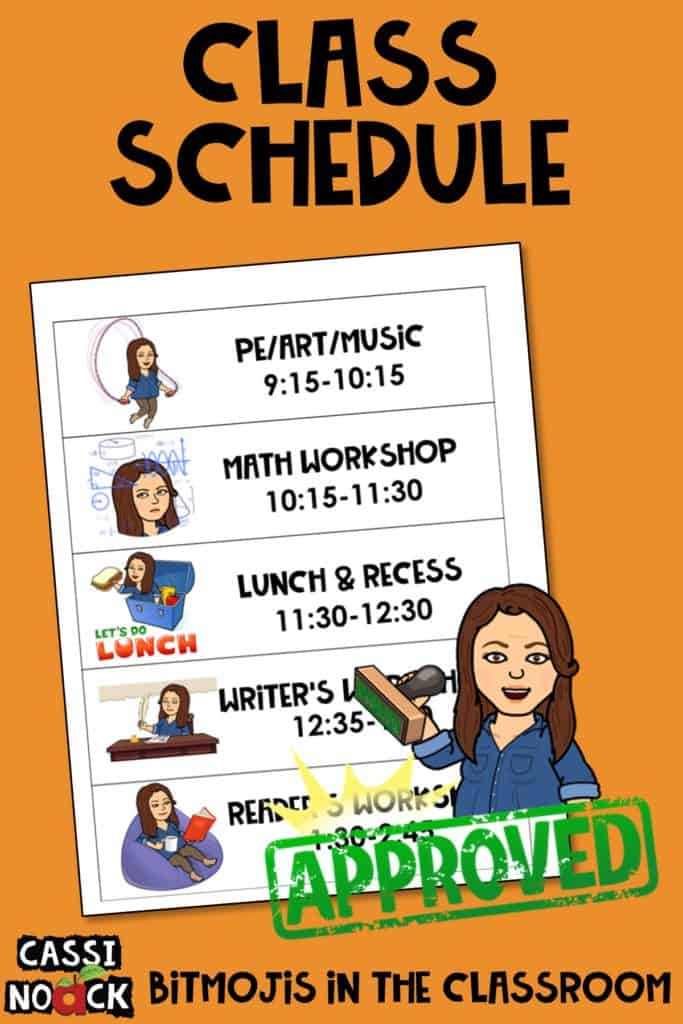 Bitmoji in the Classroom • Cassi Noack Bitmoji in the Classroom