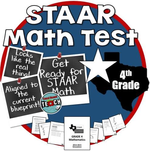 STAAR Practice Math Test - True 4th grade STAAR simulation