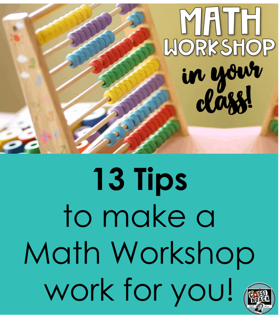 How to Have A Math Workshop